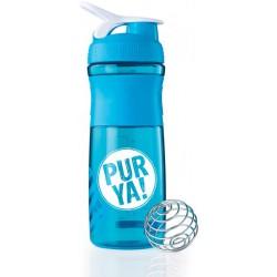 PURYA Shaker - Aqua/blanc