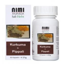 Nimi - Kurkuma + Pippali Extrakt