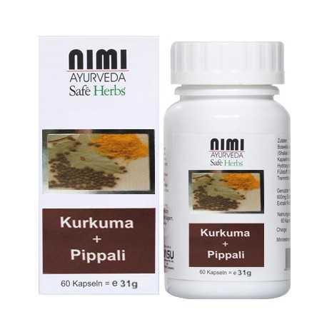 Nimi De Cúrcuma + Pippali Extracto