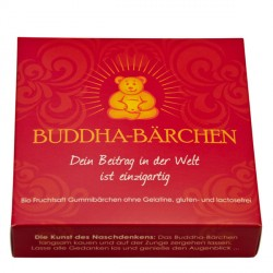 Mindsweets - Bouddha-Ours emballage individuel, rouge - 75g
