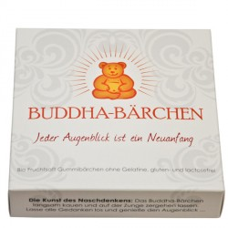 Mind sweets - Buddha bears a single pack, white - 75g