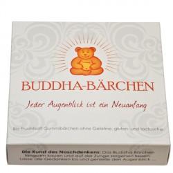 Mindsweets - Buddha-Bärchen Einzelpackung, weiß - 75g