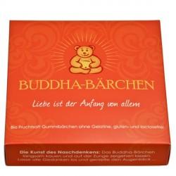 Mindsweets - Bouddha-Ours emballage individuel, orange - 75g