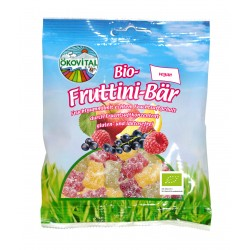 Ökovital - Bio-Fruttini bear without gelatin - 100g