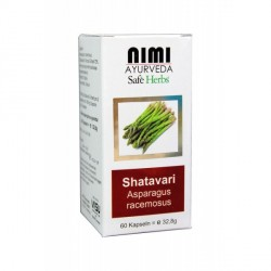 Nimi - Shatavari Kapseln - 60 Stück