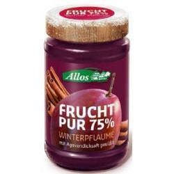 Allos - Frucht Pur Weihnachtsfruchtaufstrich Winterpflaume - 225g