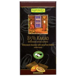 Rapunzel de Chocolate 85% Cacao - 80g