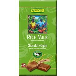 Raiponce - Rice Lait végétalien lumineux de Chocolat - 100g