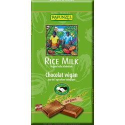 Rapunzel - Rice Milk vegana Chocolate brillante - 100g