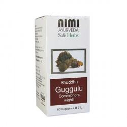 Nimi - Shuddha Guggulu - 60 Piezas