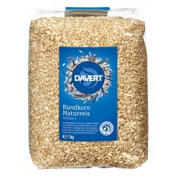Davert - Rundkorn Naturreis - 1 kg
