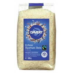 Davert - Real Basmati rice, white FAIRTRADE - 500g