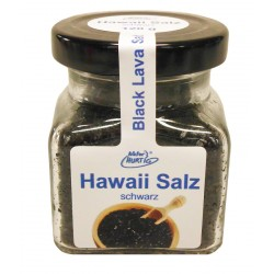 Natur Hurtig - Hawaii Salz, schwarz - Salze der Welt - 120g