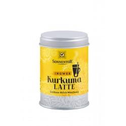 La porte du soleil - Curcuma-Latte de Gingembre bio - Boîte de 60g