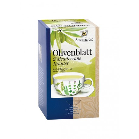 Sonnentor - Olivenblatt Mediterane Kräuter - 18 Teebeutel