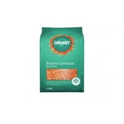 Davert - Geschrotete semi di Lino - 400g