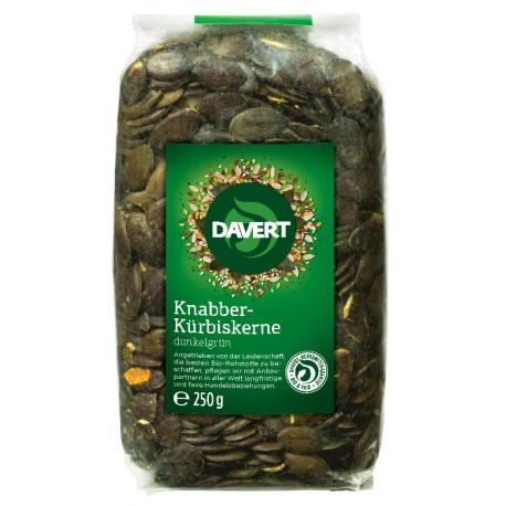 Davert - Snacks-pumpkin seeds - 250g