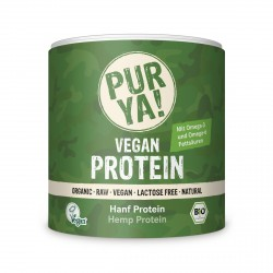 PURYA - Bio Proteine di Canapa 50% di Proteine - 250g