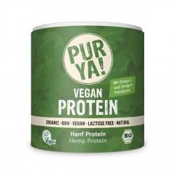 PURYA Biologique de la Protéine de Chanvre 50% de Protéines - 250g