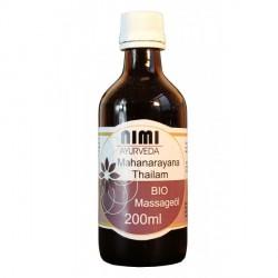 Nimi - Mahanarayana de l'huile de Massage BIO - 200ml
