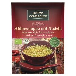 Natur Compagnie - ASIA Hühnersuppe mit Nudeln - 40g