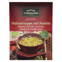 Natura Compagnie - ASIA Zuppa di pollo con Tagliatelle - 40g