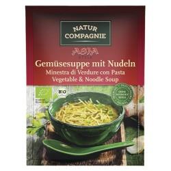 Naturaleza de la Compagnie de ASIA Sopa de verduras con Fideos - 40g