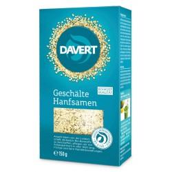 Davert - graines de Chanvre Décortiquées - 150 g