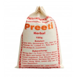 Il tè Nepal - Preeti a base di Erbe di Tè allo Zenzero 100g