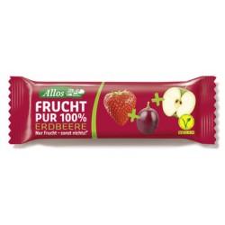 Allos - Frucht Pur 100% Riegel - Erdbeere