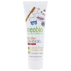 neobio - gel dentaire pour enfants sans fluor - 50ml