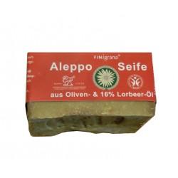 Finigrana - Savon d'Alep à 16% d'huile de laurier - 180g