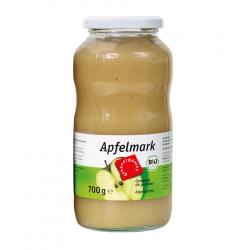 Green - Bio pulpe de pomme non sucré, 720ml - 700g