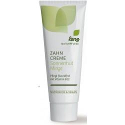 lenz dental cream sun hat mint fluoride free Vitamin B12 - 75ml
