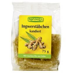 Rapunzel - Ingwerstäbchen canditi - 75g