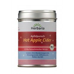 Herbaria - Apfelpunsch, Hot Apple Cider - 100g