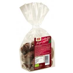 Rosengarten - Lebkuchen-Herzen gefüllt - 125g