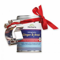 Herbaria - cookie spice Ginger & Bread - 55g
