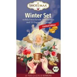 Hari - Winter Set - wärmender Tee & Ingwerbonbons - 70,8g