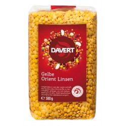 Davert - Gelbe Orient Linsen - 500g