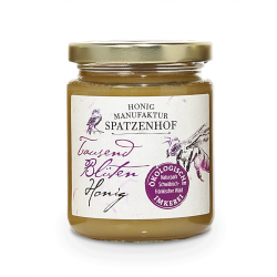 Spatzenhof - Bioland Tausend-Blüten-Honig - 340g