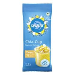 Davert - Chia-Cup Mango-Kokos - 42g