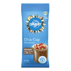 Davert - Chia-Cup Schokolade - 50g