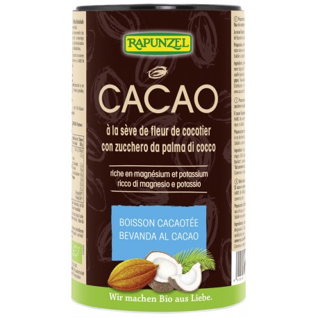Rapunzel - Kakao mit Kokosblütenzucker - 250g