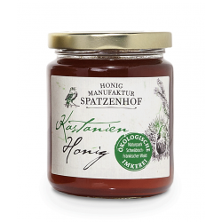 Spatzenhof - organic chestnut honey - 340g