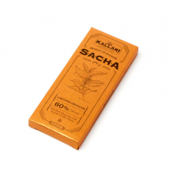 SACHA - Likchachik 60% Kakao (Geröstete Kaffeebohnen) - 50g