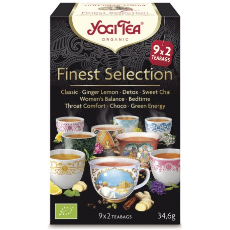 Yogi Tea - Finest Selection Bio - 18St