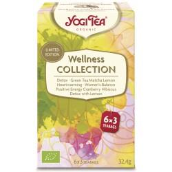 Yogi Tea - Wellness Collection, organic 18pcs