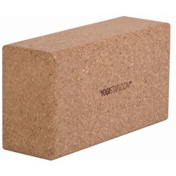 Yogi star - yoga block-natural cork - Basic