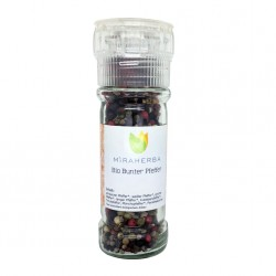 Miraherba - Bio Colorful pepper - 40g pepper mill